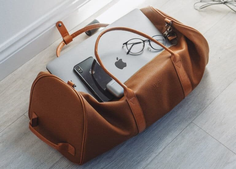 weekender bag for men