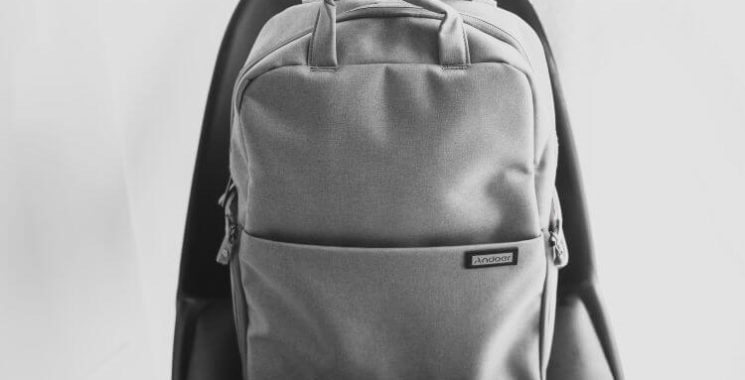 minimal simple backpack