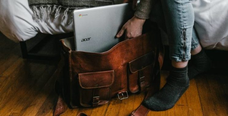 leather satchel for men