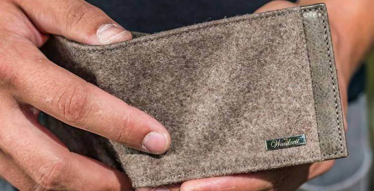 mens canvas wallet
