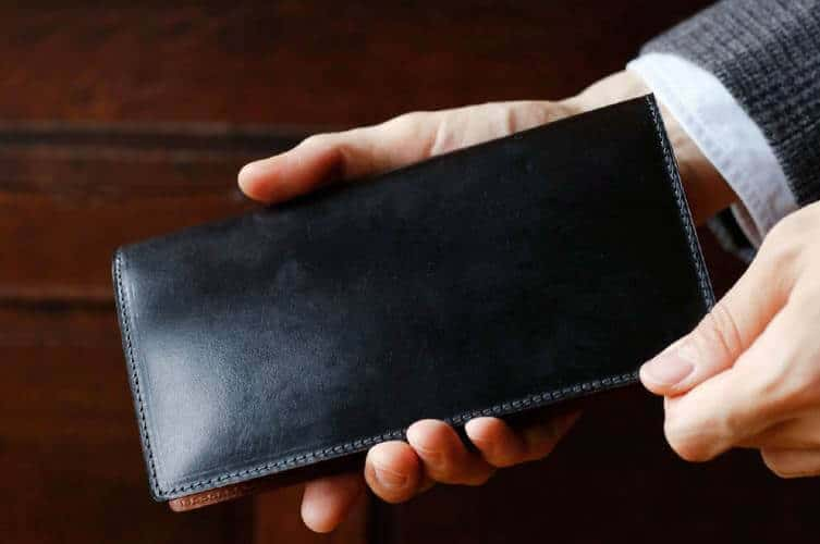 long wallets for men
