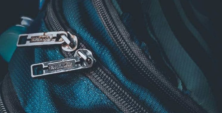 how to fix a backpack zipper on one side