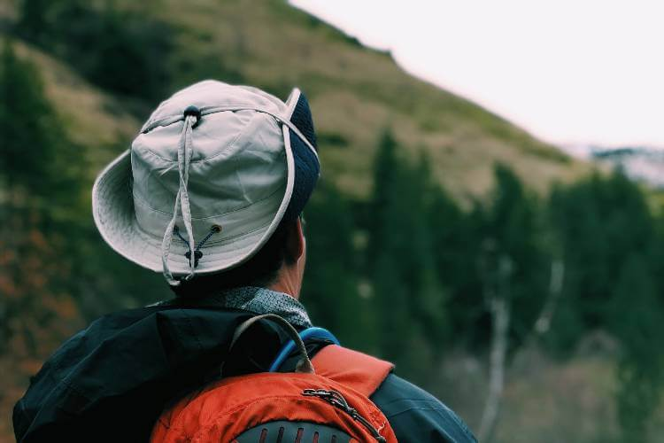 outdoor hat for hiking