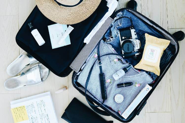 how to clean luggage